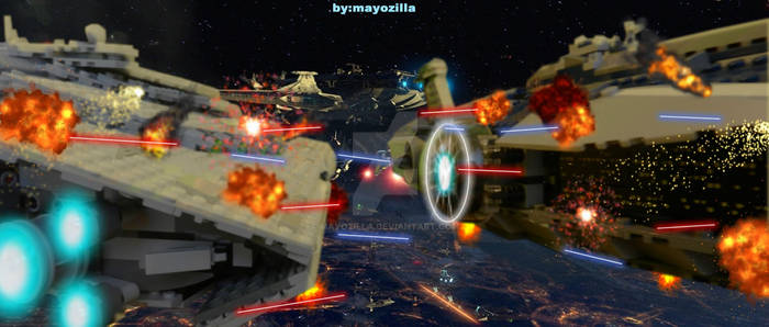 OLD VS NEW Star Wars SPACE BATTLE SHIPS