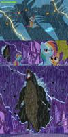 Godzilla arrive equestria