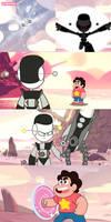 XJ Negative VS Steven universe