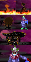 Charro negro vs Killer klown