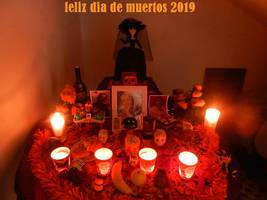 altar dia de muertos 2019