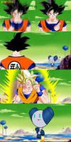 Goku vs Robotboy