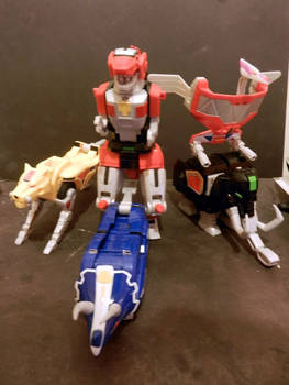 Zords of original power rangers