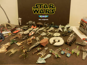My collection of star wars ships for now.