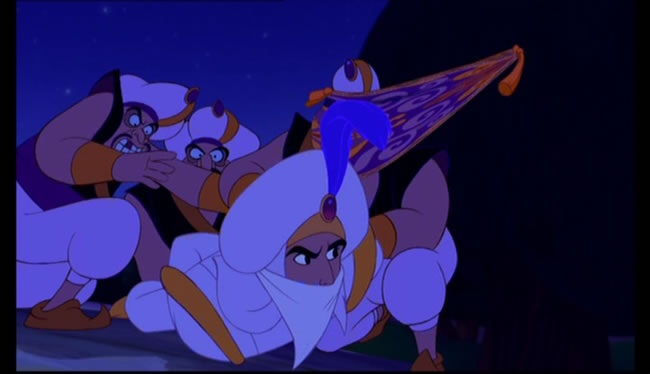 aladdin three wishes scene