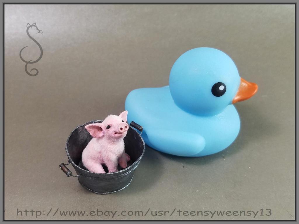 Rub a dub dub a pig in a tub by Teensyweensybaby on DeviantArt