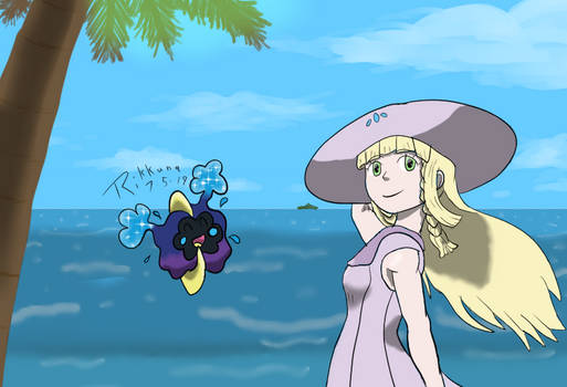 Lillie in the Coastal Breeze