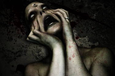 silent scream by angelo55