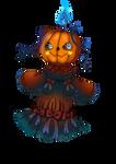 [OPEN] Adoptable | Lady Pumpkin by MurasakiOni98
