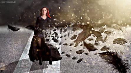 Feather Disintegration Effect