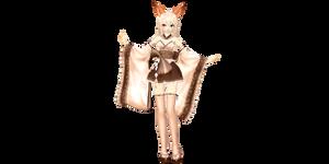 [MMD] TDA Kimono Milka