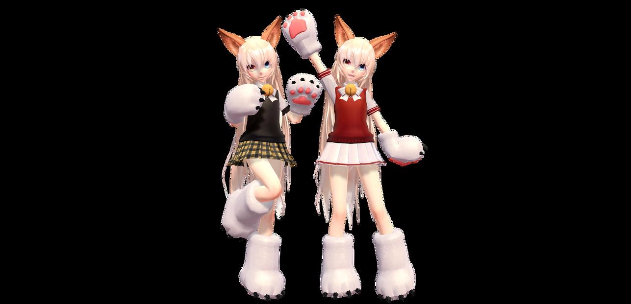MMD Milka -- Cat Club Outfit by MilkaElRinka on DeviantArt