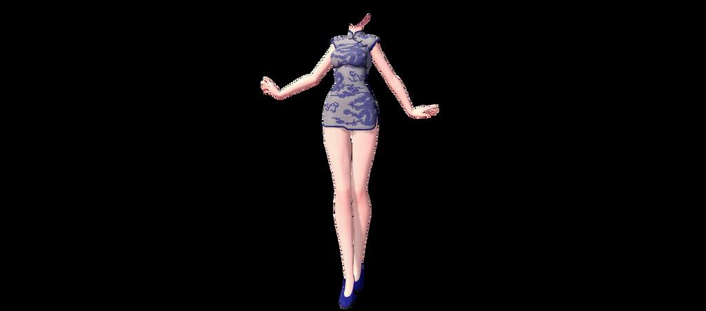 [MMD] TDA China Dress