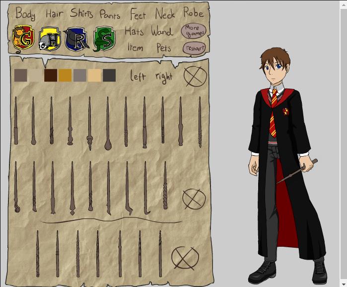 Hogwarts student maker by Hapuriainen on DeviantAr