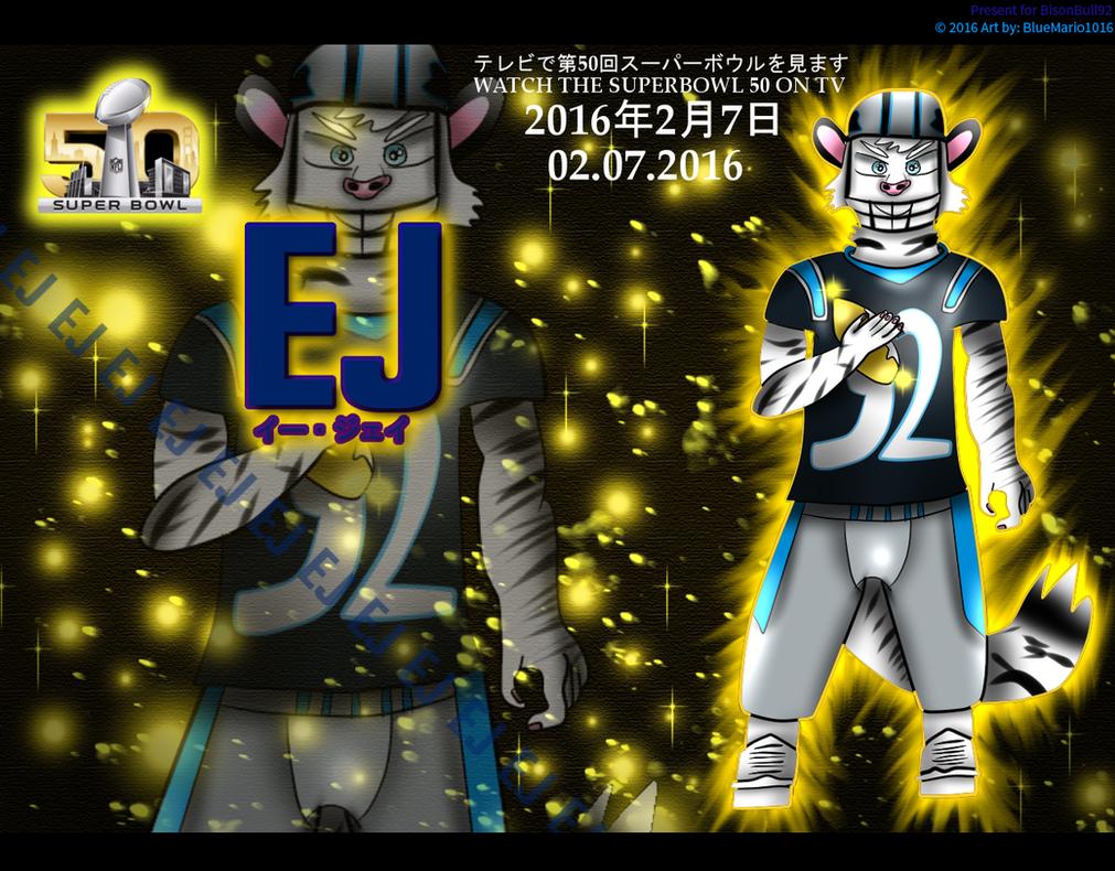 EJ Super Bowl 50 Wallpaper Set By BlueMario1016
