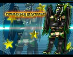 Commander Blackfire wallpaper set
