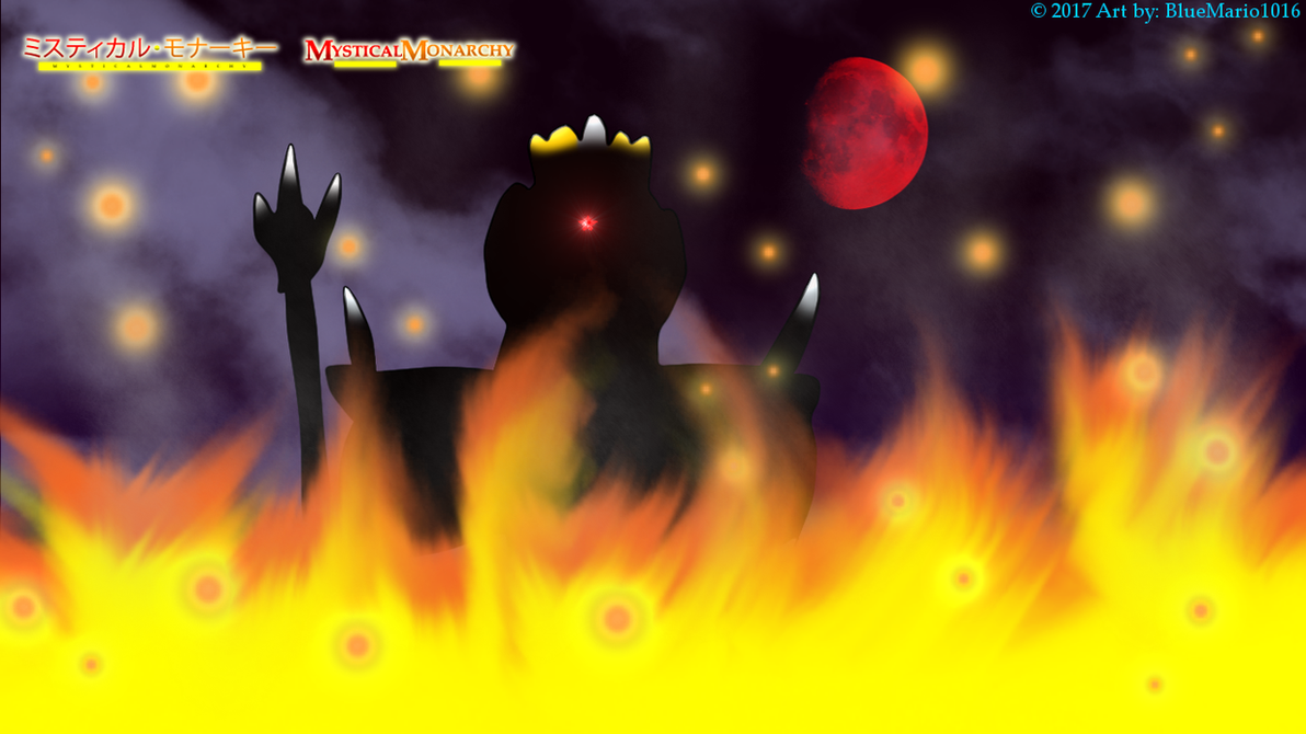 Kingdom in flames by BlueMario1016