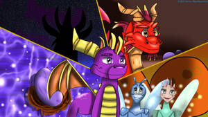 The Legend of Spyro Crystal Light Novel 1 by BlueMario1016