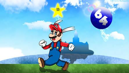 Super Mario 64! Whoo-hoo! by BlueMario1016