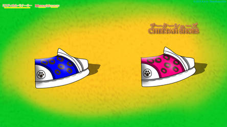 Mystical Monarchy - Cheetah Shoes by BlueMario1016
