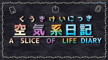 A Slice of Life Diary JP-EN logo
