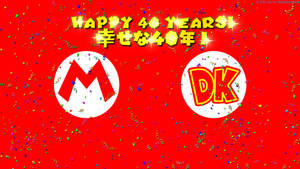Mario and DK 40 Years