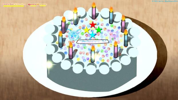 MM - Magic Birthday Cake