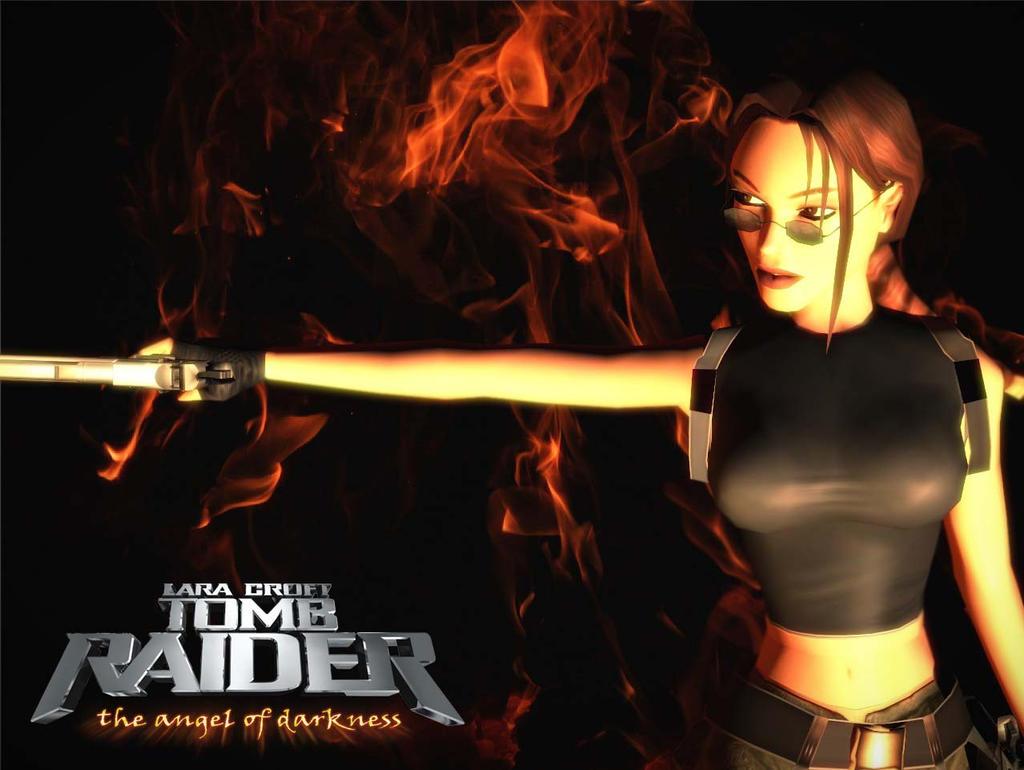 Lara Croft The Angel Of Darkness By Sabrinaettey On Deviantart-9063