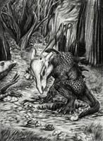 realistic Cubone and Marowak by xDunkelseelex