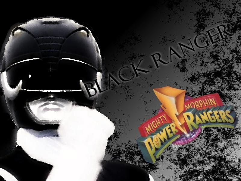 Black Power Ranger by Nintenfox