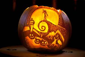 My first Halloween Pumpkin