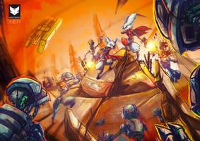Cadacter Attack by Kiaun