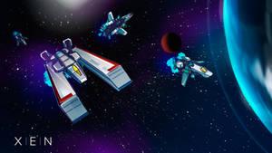 XEN Space ship concepts