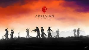 Arkesian Synthetics Wallpaper [commission] by Kiaun