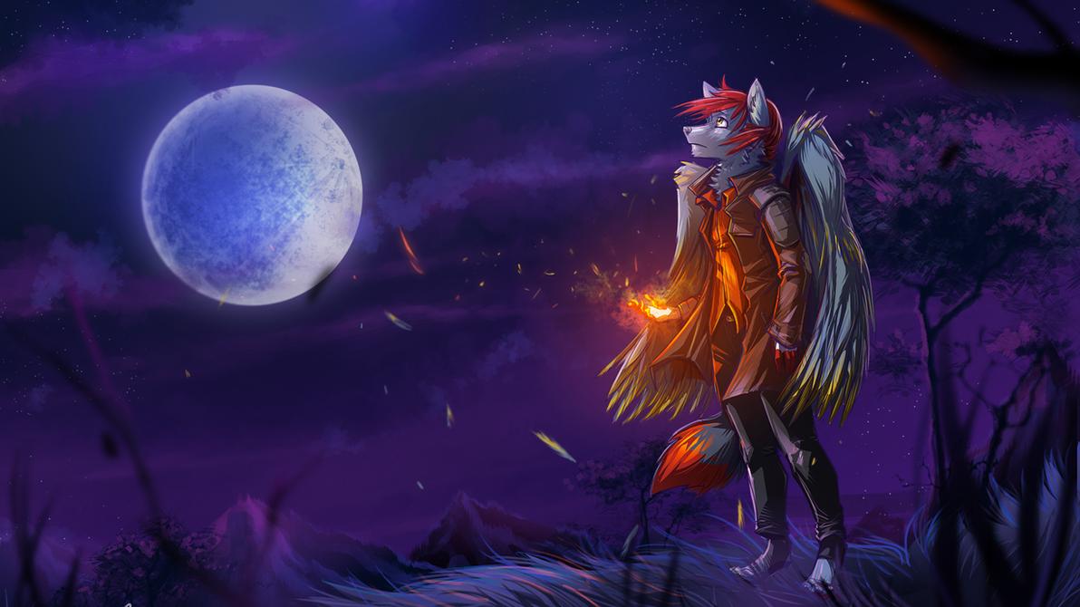 Raven Alross [commission] by Kiaun