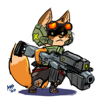 Small Soldier Gaff [gift] by Kiaun