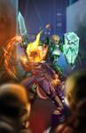 Pyro and Silas ambush