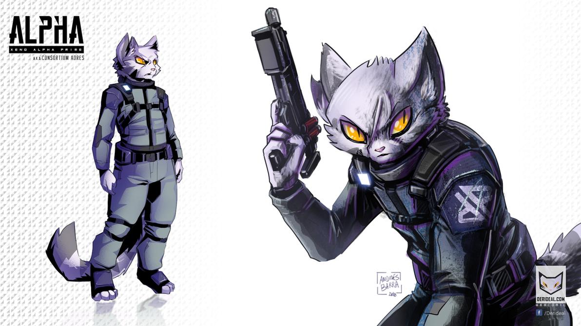 Alpha rev 3 by Kiaun