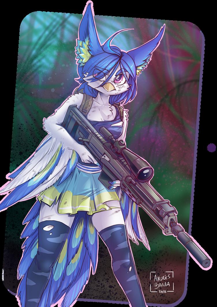 Perico the Sniper by Kiaun