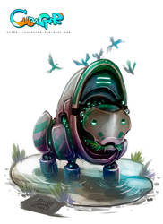Cudacter Hippo by Kiaun