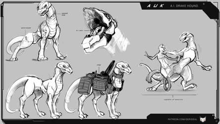 Auk sketch sheet