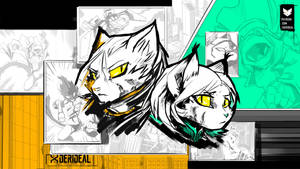 Alpha and Ivory portrait wallpaper