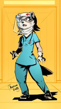 Medical worker pli