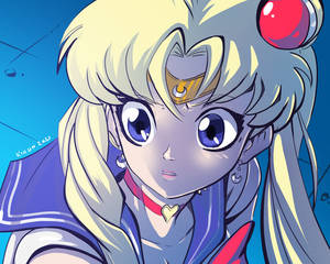 Sailor Moon redraw challenge #1