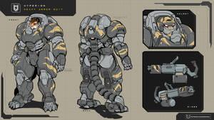 Hyperion heavy armor suit