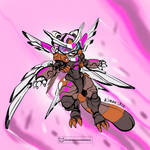 Cinna Flying Assault armor