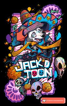 Jack Da de Muertos Badge