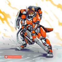 Vixen Power Armor (no helmet)