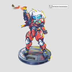 Full armored Nova - visor
