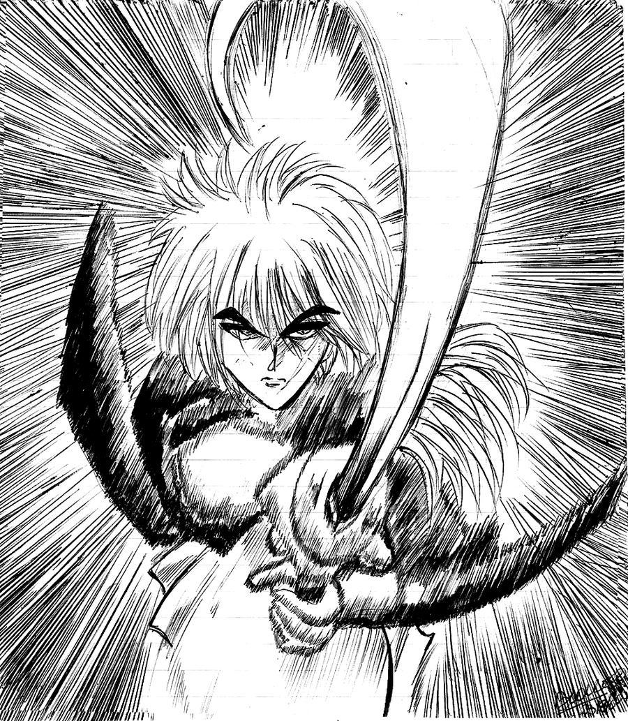 Kenshin Himura By BatesMotel